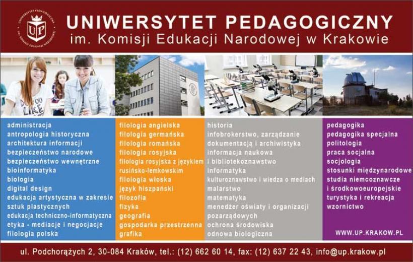 Uniwersytet Pedagogiczny im. Komisji Edukacji Narodowej w Krakowie